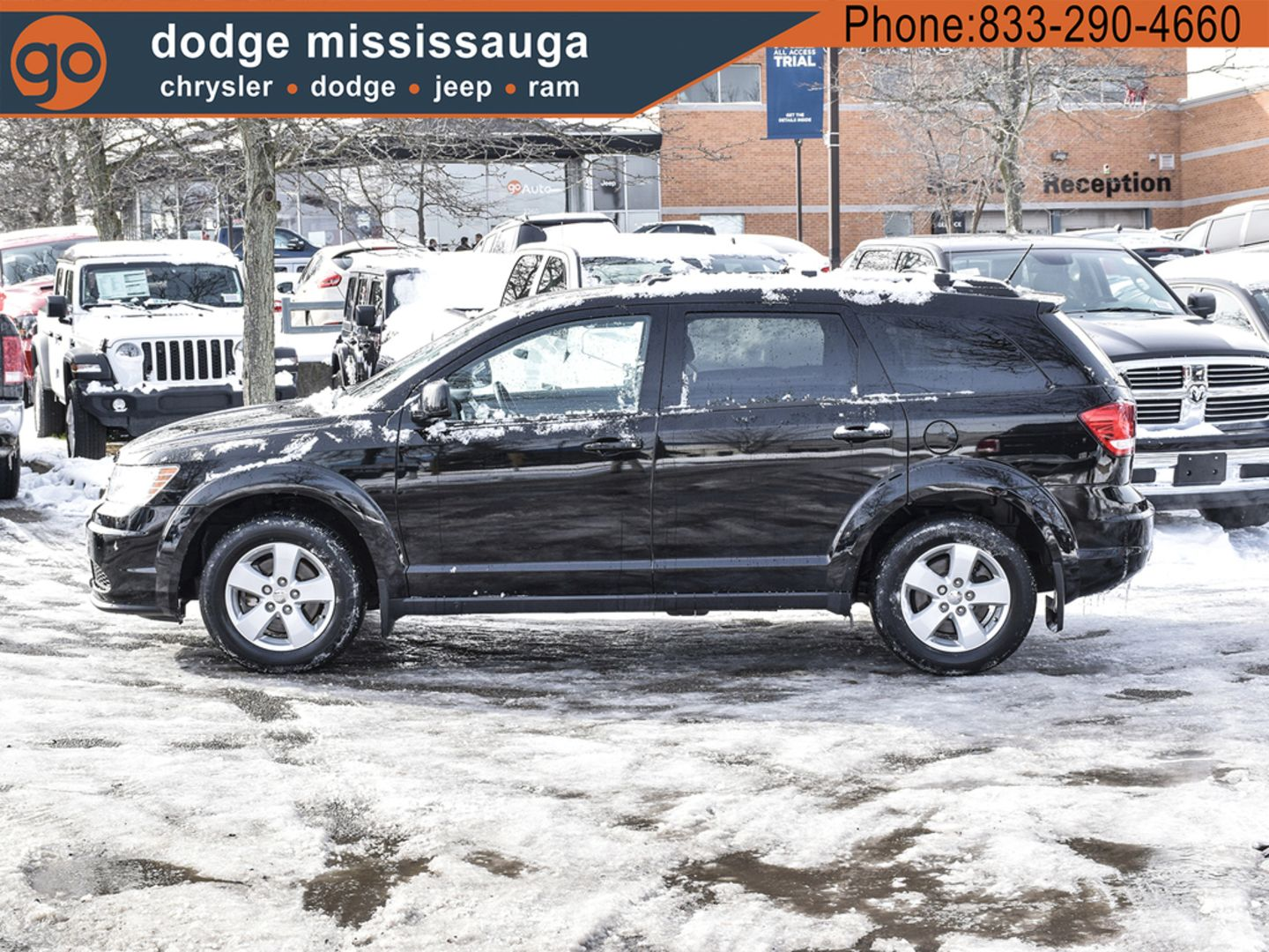 2017 Dodge Journey SE Plus for sale in Mississauga, Ontario