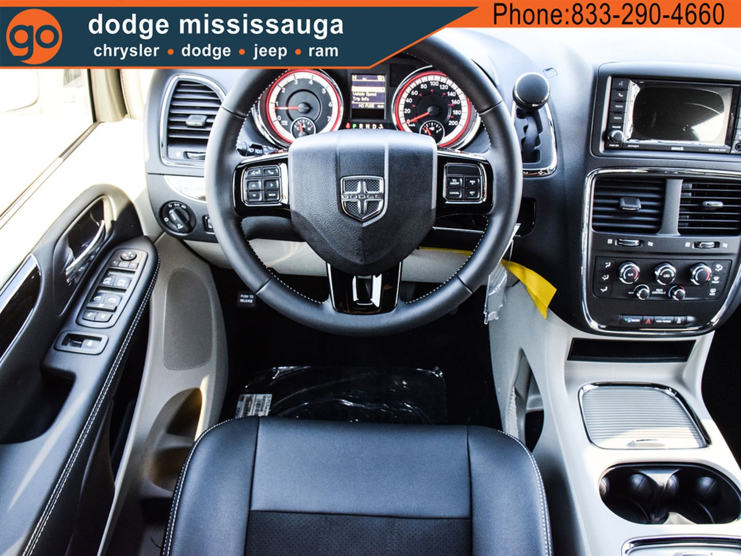 2019 Dodge Grand Caravan SXT Premium Plus for sale in Mississauga, Ontario