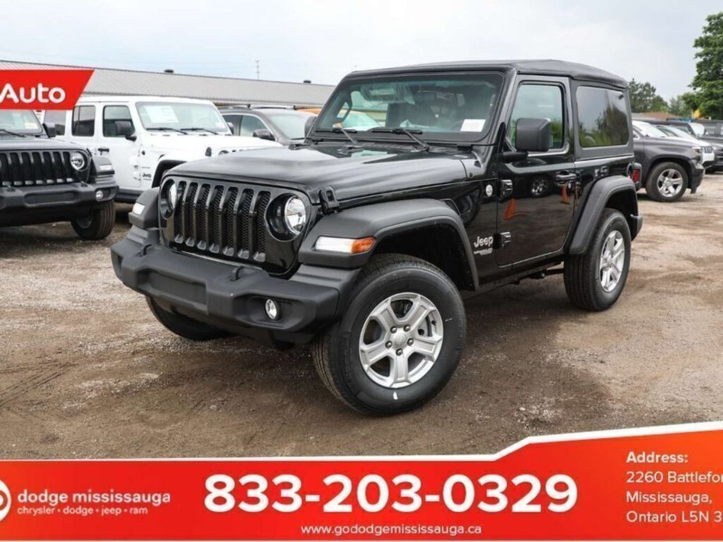 2019 Jeep Wrangler Sport S for sale in Mississauga, Ontario