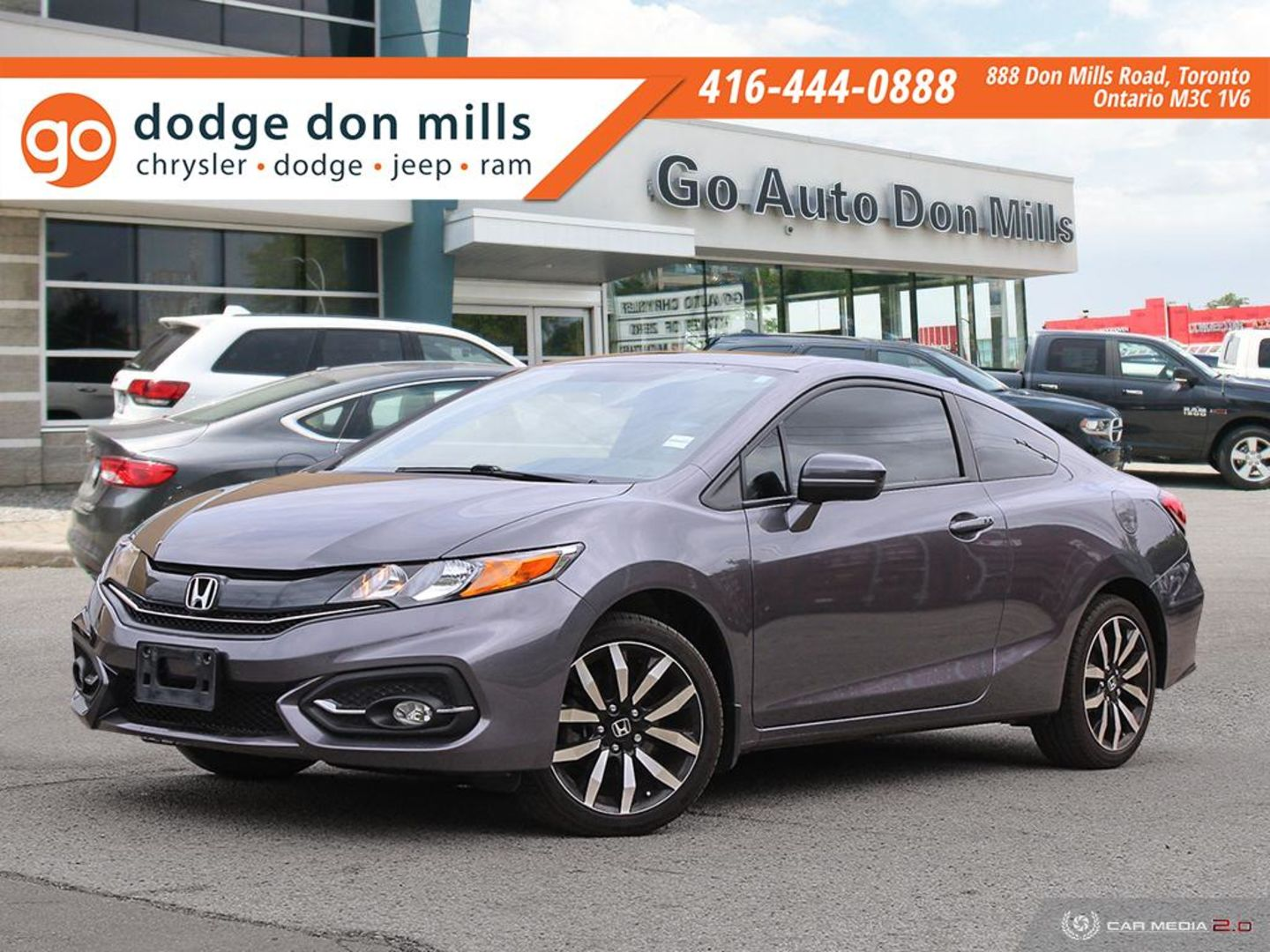 2014 Honda Civic Coupe EX-L for sale in Toronto, Ontario