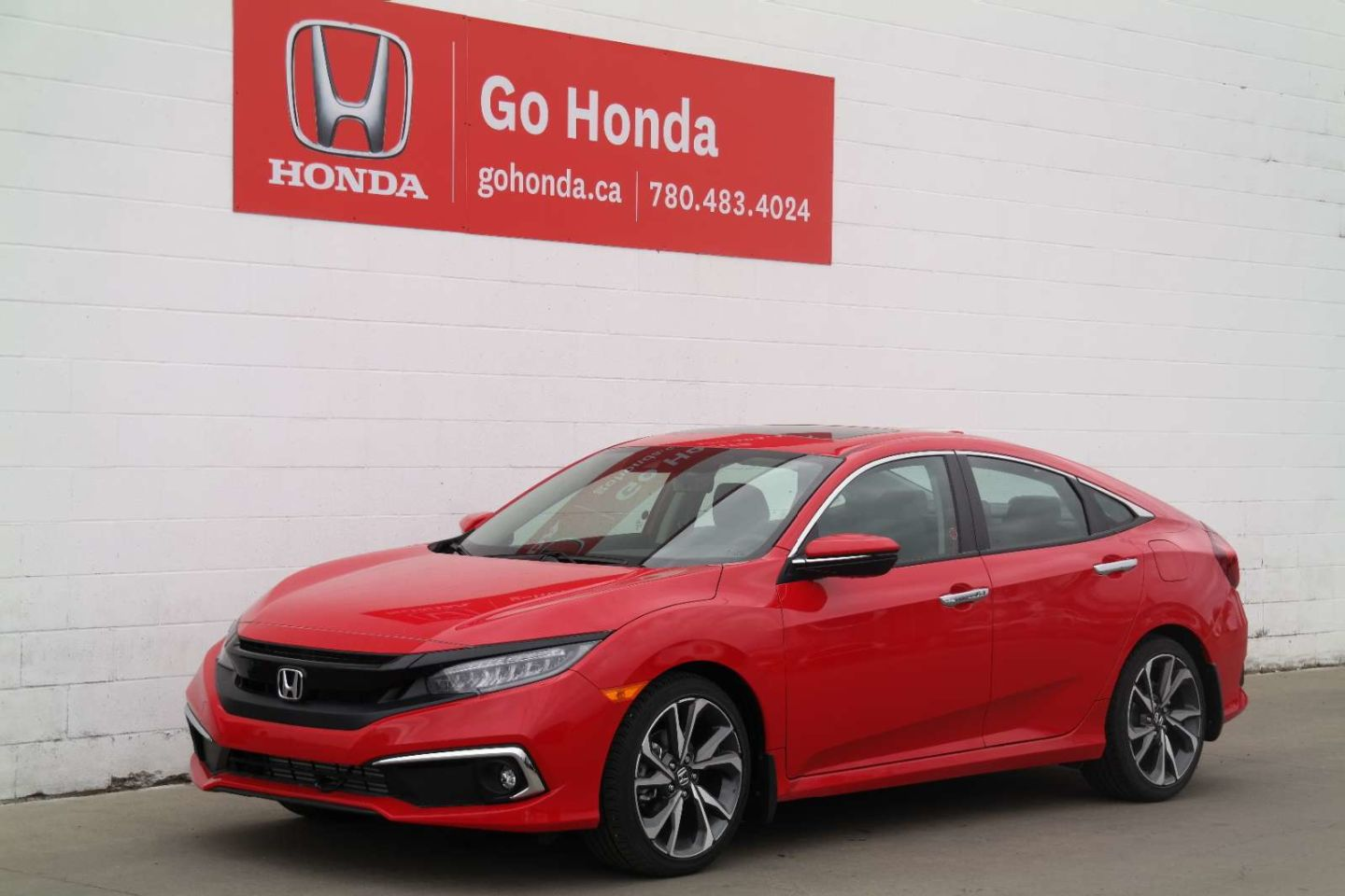 2019 Honda Civic Sedan Touring for sale in Edmonton, Alberta