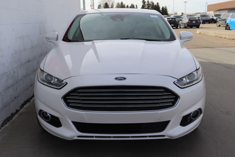 2016 Ford Fusion Titanium Hybrid for sale in Edmonton, Alberta
