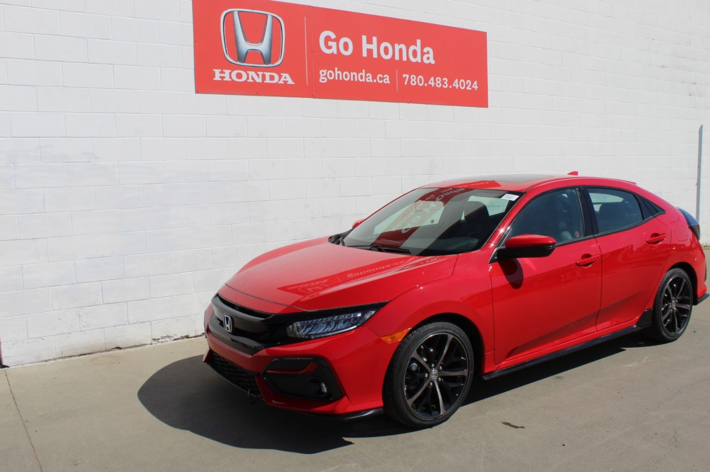 2020 Honda Civic Hatchback Sport Touring for sale in Edmonton, Alberta