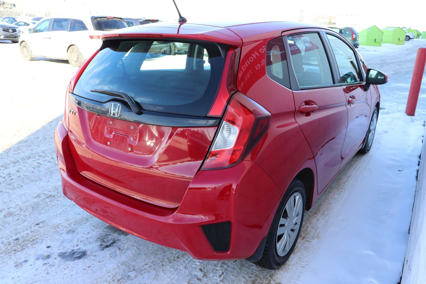 2015 Honda Fit LX for sale in Edmonton, Alberta