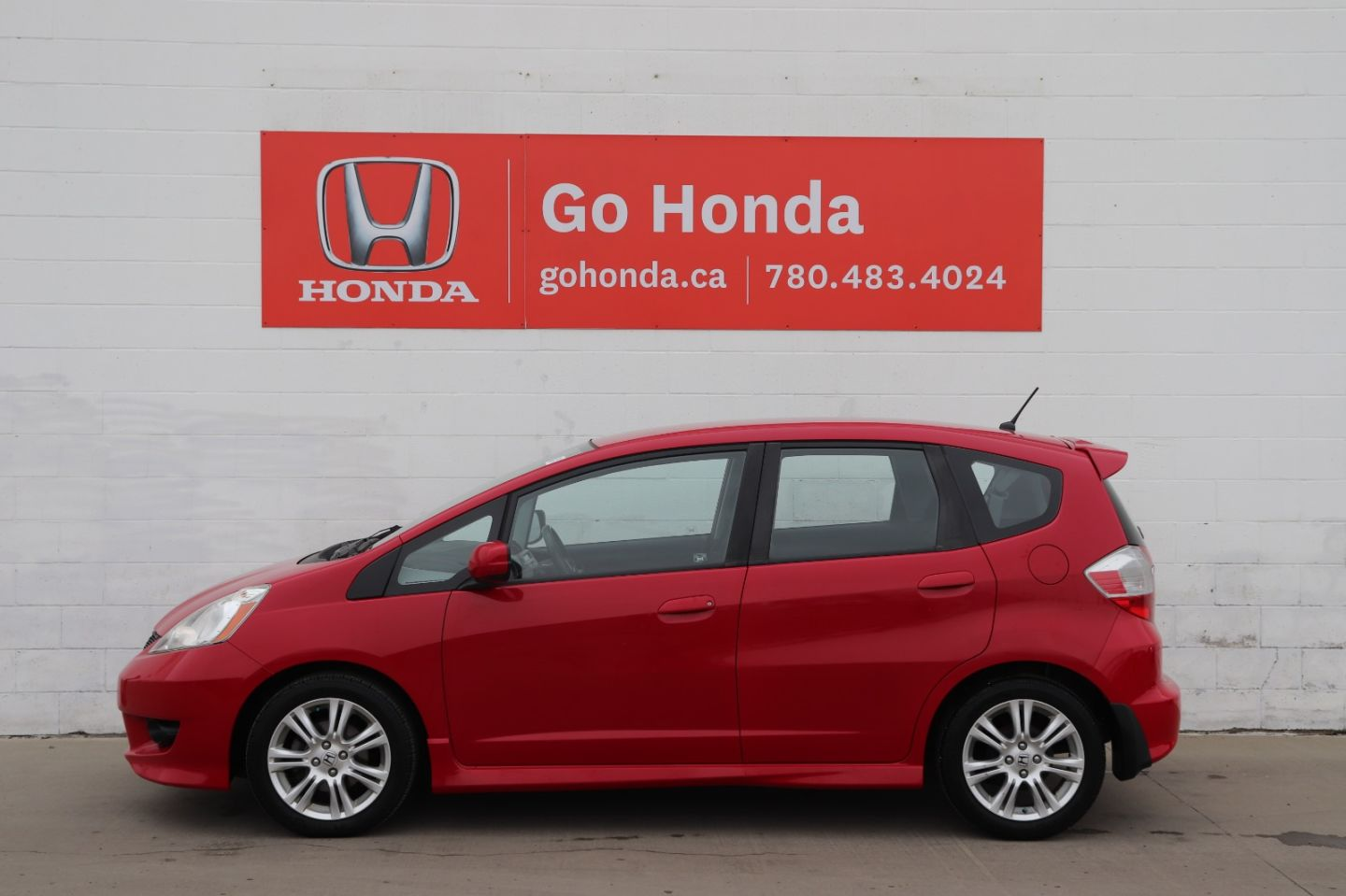 2009 Honda Fit Sport for sale in Edmonton, Alberta