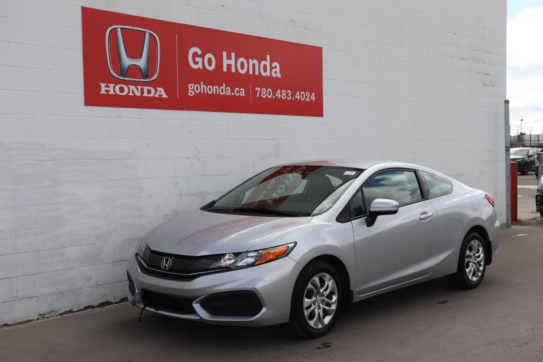 Used 2015 Honda Civic Coupe Lx 21cv8609a Edmonton Alberta Go Auto