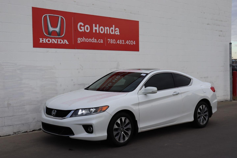2015 Honda Accord Coupe EX-L w/Navi for sale in Edmonton, Alberta