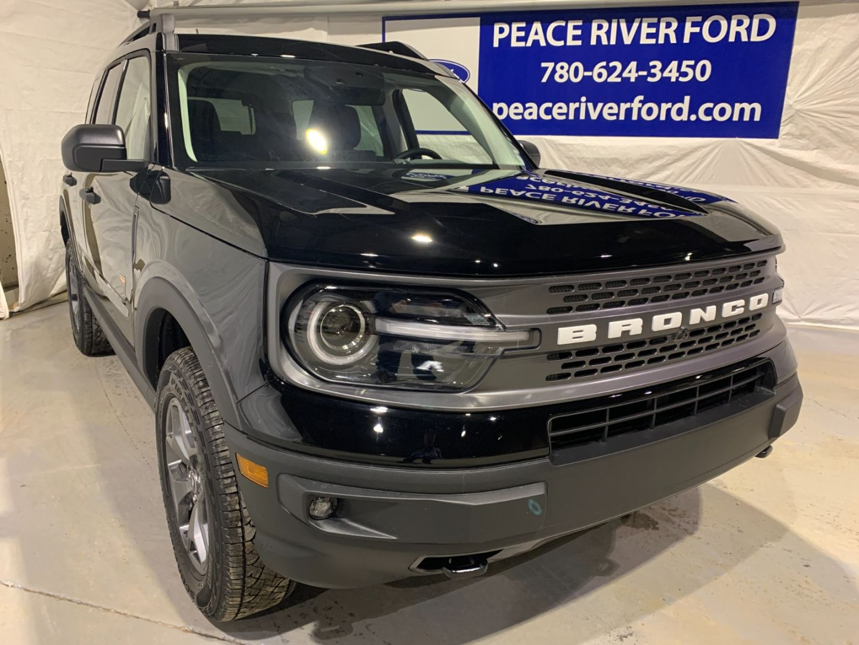 New 2021 Ford Bronco Sport Badlands 21br2271 Peace River Alberta Go Auto