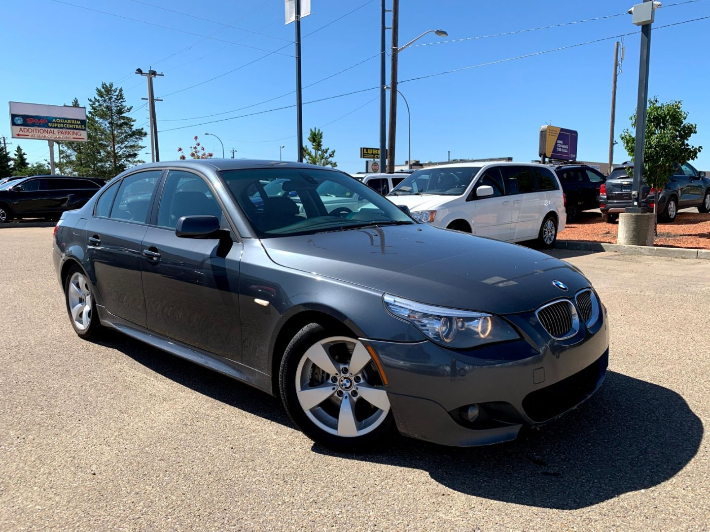 2008 BMW 5 Series 550i for sale in Edmonton, Alberta