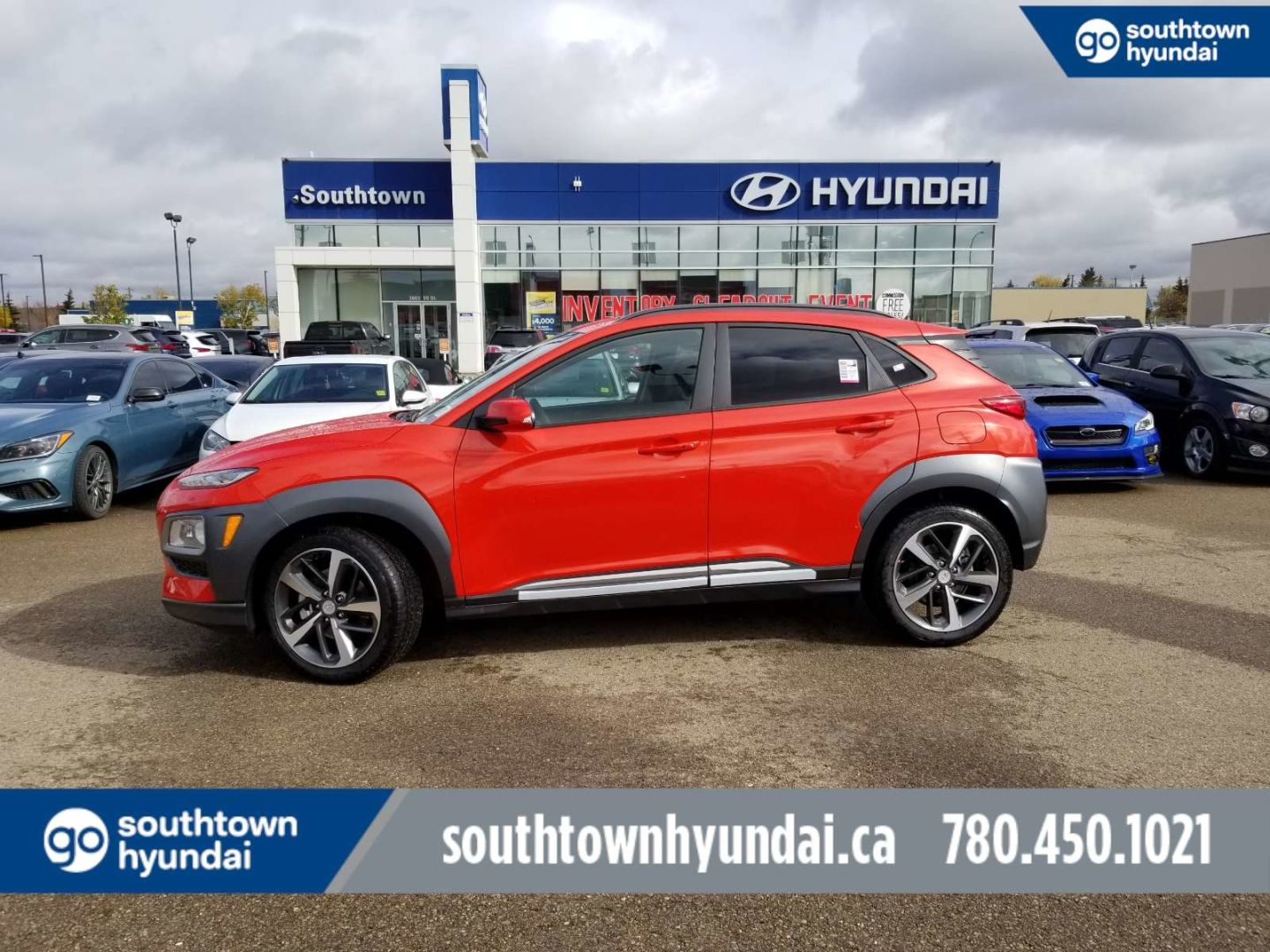 2020 Hyundai Kona Ultimate for sale in Edmonton, Alberta