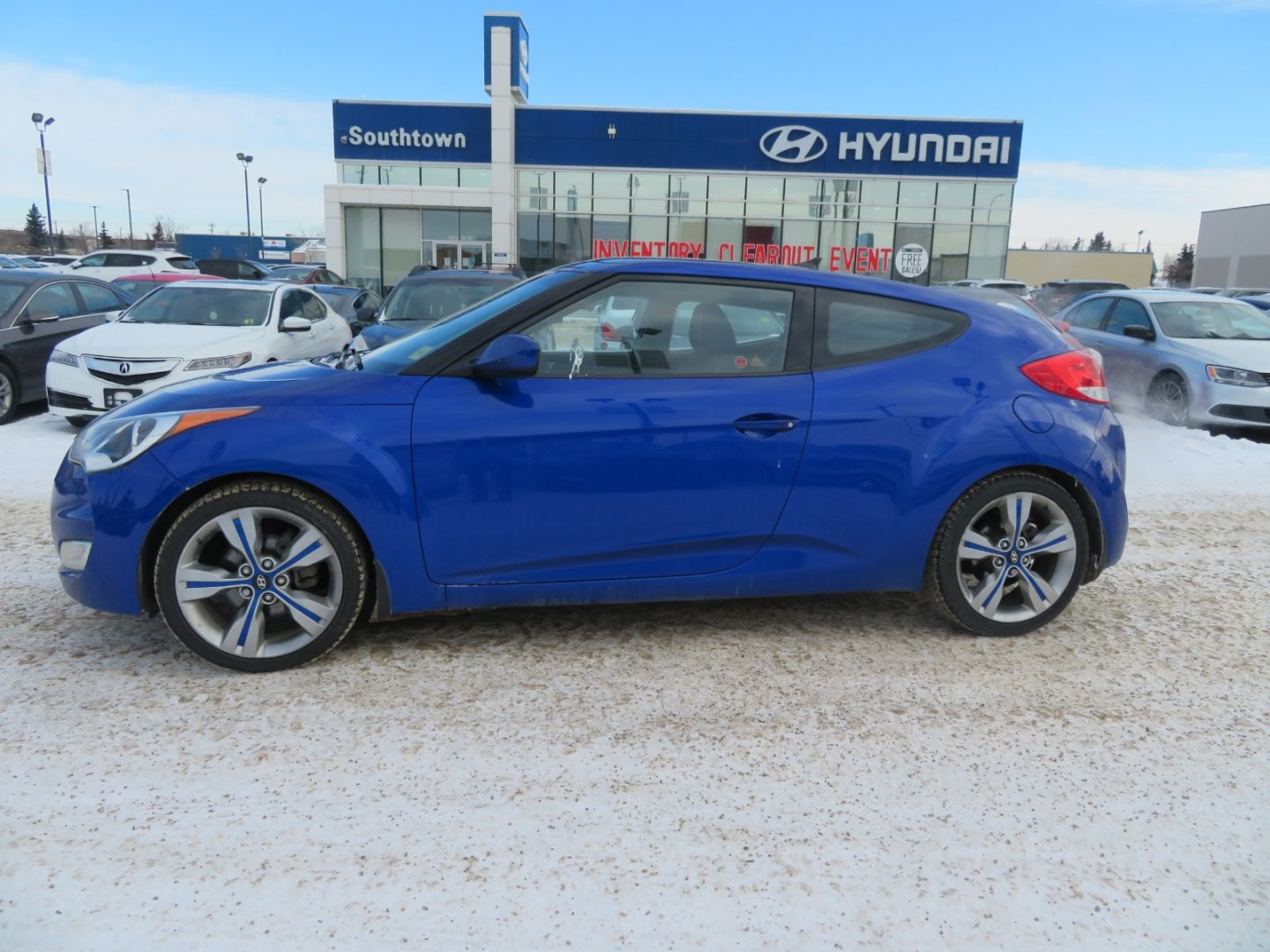 2012 Hyundai Veloster w/Tech for sale in Edmonton, Alberta