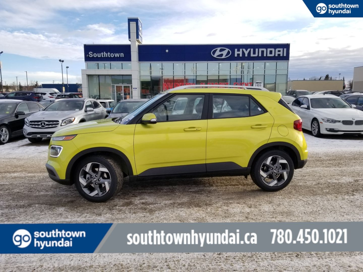 2020 Hyundai Venue Ultimate w/Black Interior for sale in Edmonton, Alberta