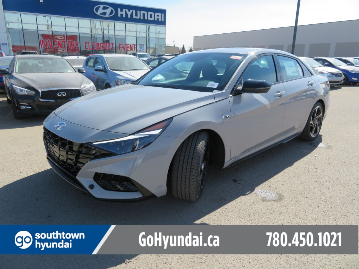 2021 Hyundai Elantra N Line for sale in Edmonton, Alberta