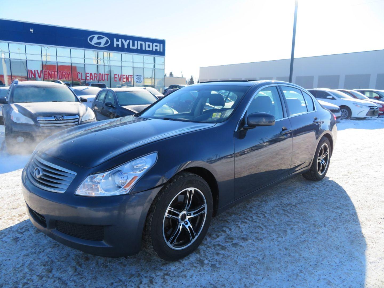 2007 INFINITI G35 Sedan G35x for sale in Edmonton, Alberta