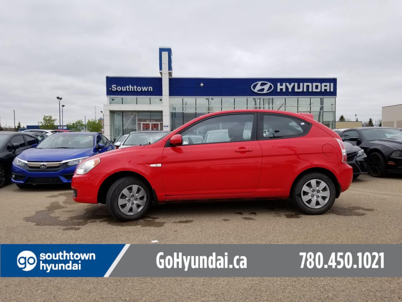 2010 Hyundai Accent L for sale in Edmonton, Alberta