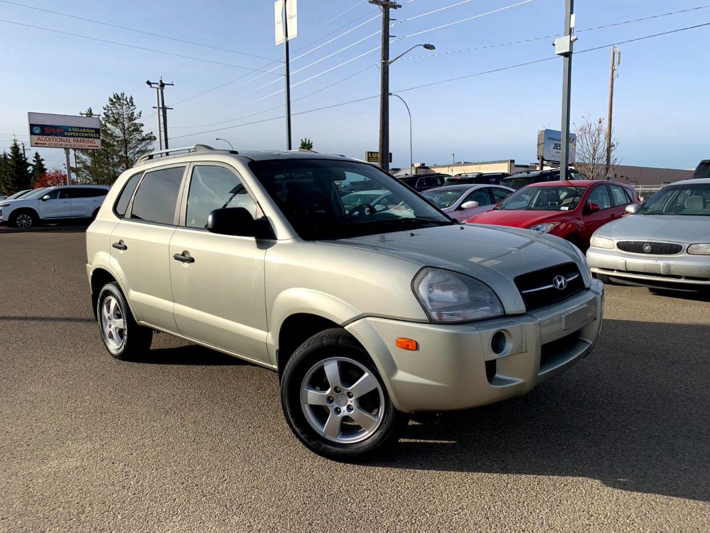 2007 Hyundai Tucson GL w/Air Pkg for sale in Edmonton, Alberta
