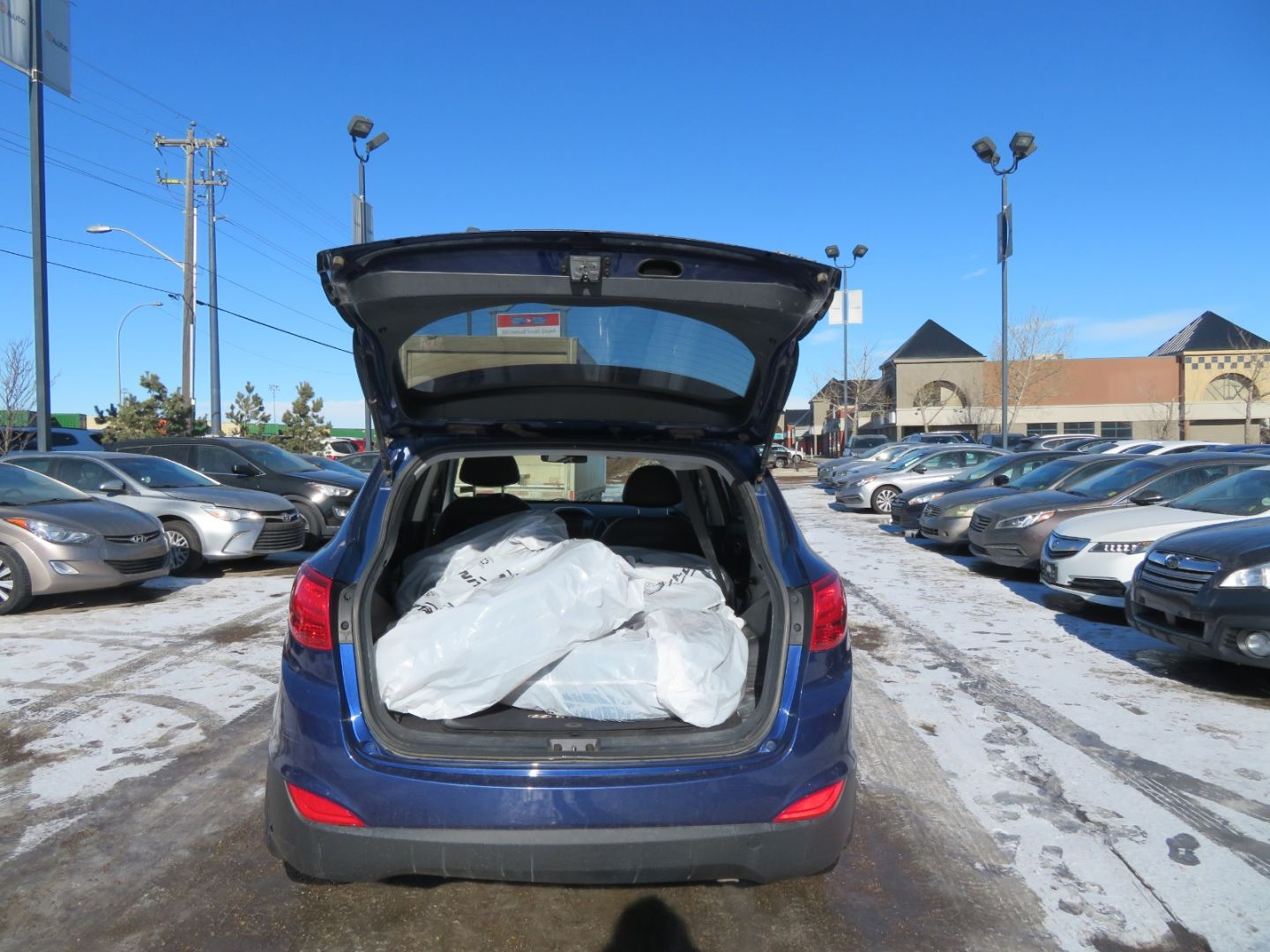 2012 Hyundai Tucson GLS for sale in Edmonton, Alberta
