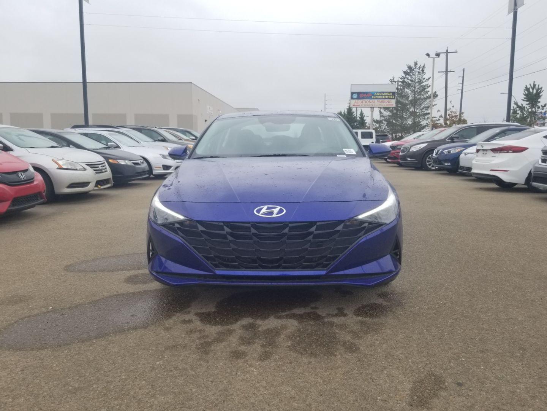 2022 Hyundai Elantra Hybrid Preferred for sale in Edmonton, Alberta