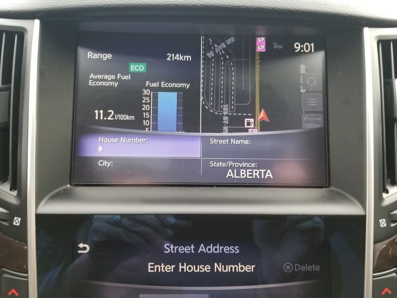 2015 INFINITI Q50 Sport for sale in Edmonton, Alberta