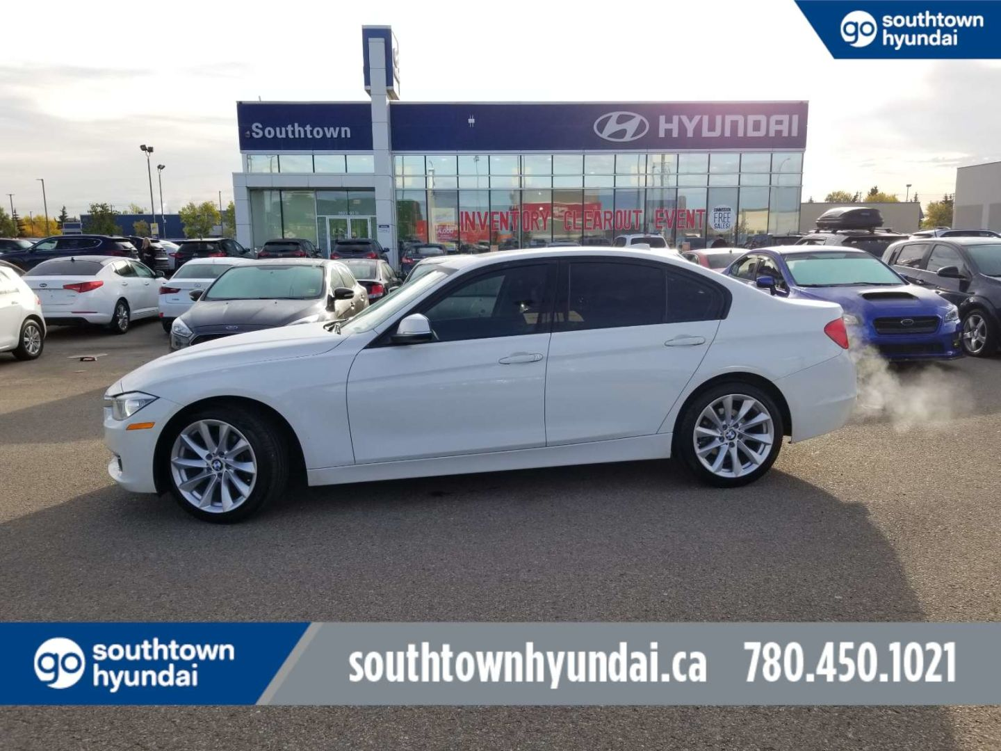 2013 BMW 3 Series 320i xDrive for sale in Edmonton, Alberta