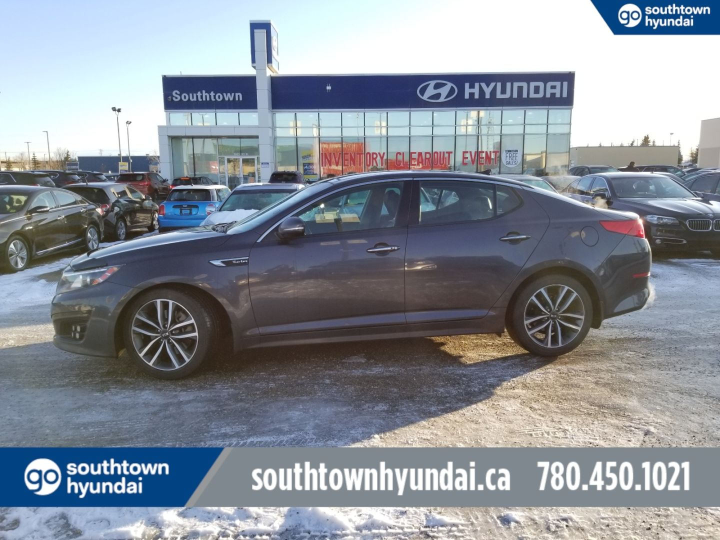 2014 Kia Optima SX Turbo for sale in Edmonton, Alberta