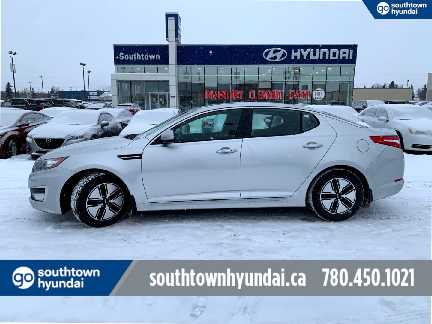 2013 Kia Optima Hybrid Hybrid for sale in Edmonton, Alberta