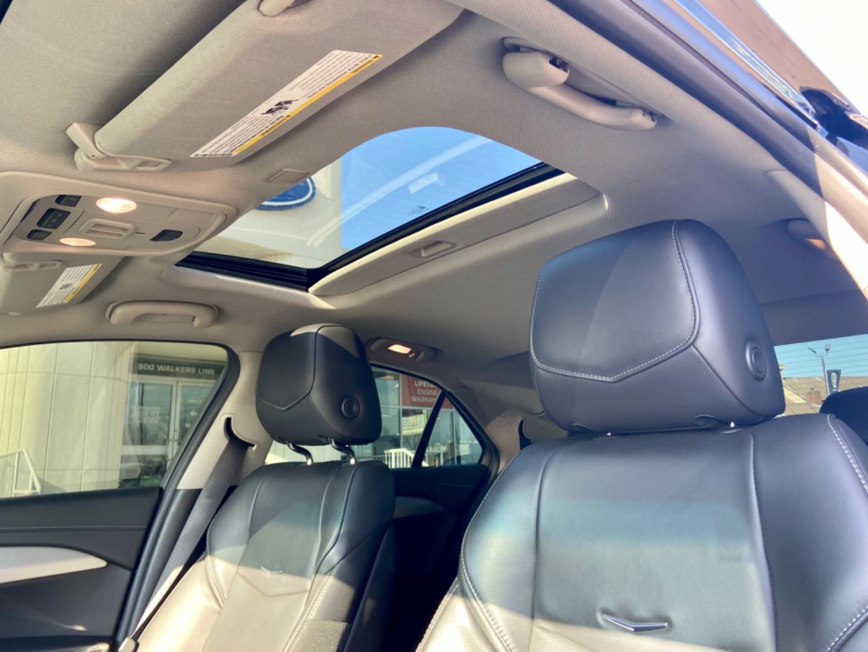 Used 2017 Cadillac ATS Sedan Luxury AWD L19MC6635A ...