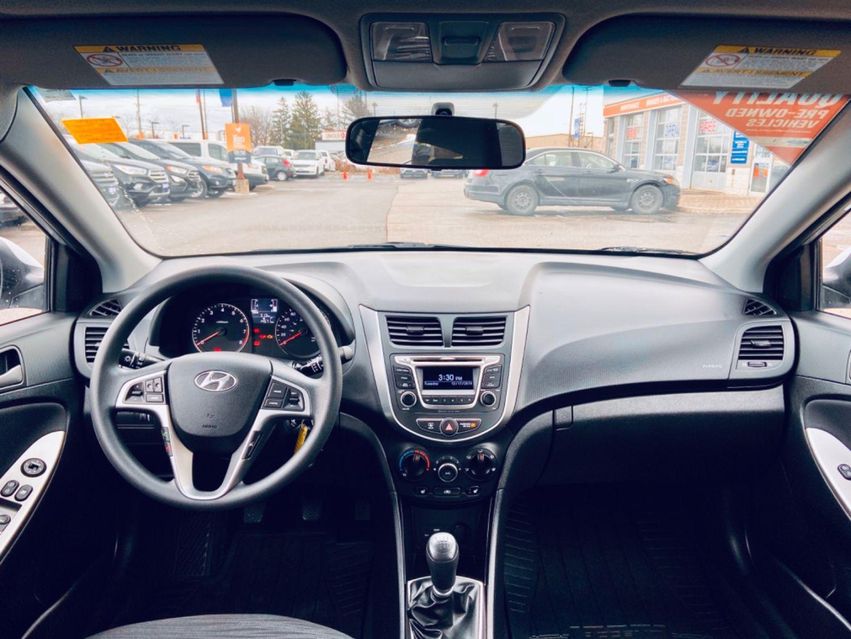 2016 Hyundai Accent GL for sale in Burlington, Ontario