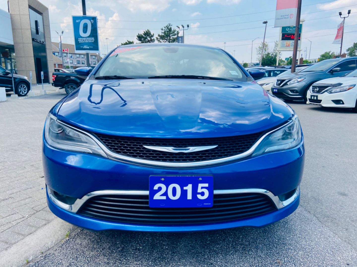2015 Chrysler 200 Limited for sale in Burlington, Ontario