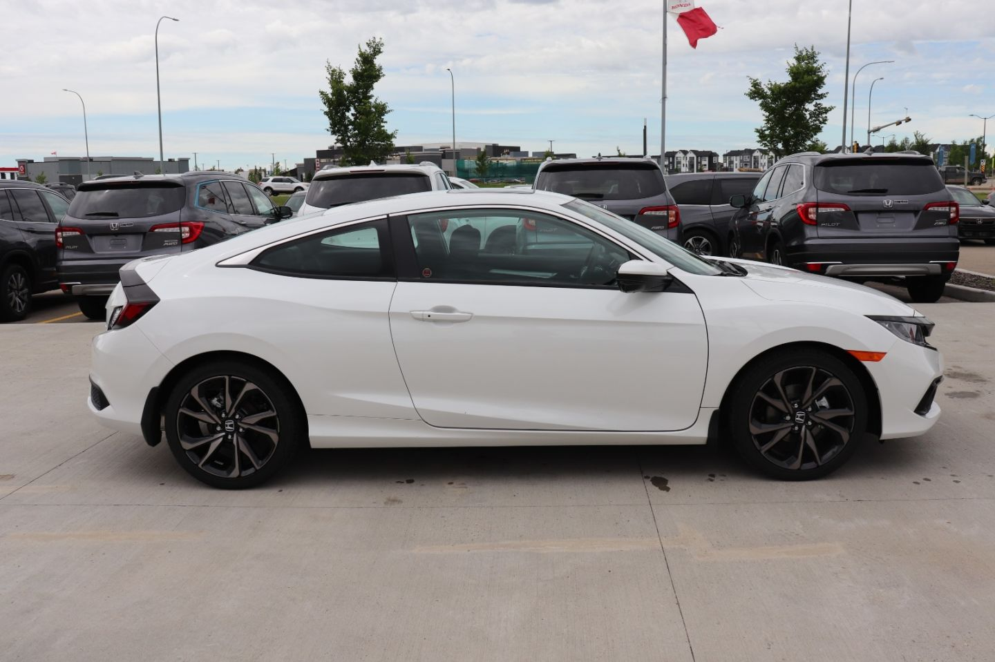 2019 Honda Civic Coupe Sport for sale in St. Albert, Alberta