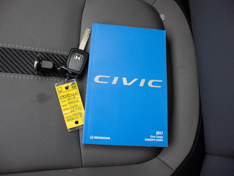 2017 Honda Civic Coupe LX for sale in St. Albert, Alberta