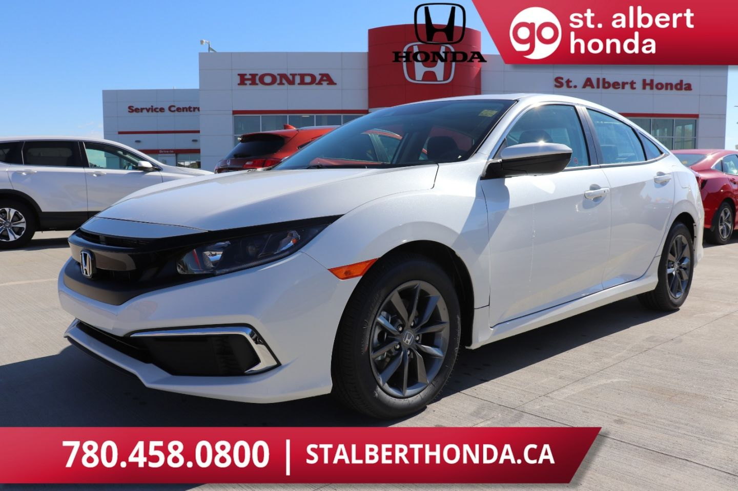 2020 Honda Civic Sedan EX w/New Wheel Design for sale in St. Albert, Alberta