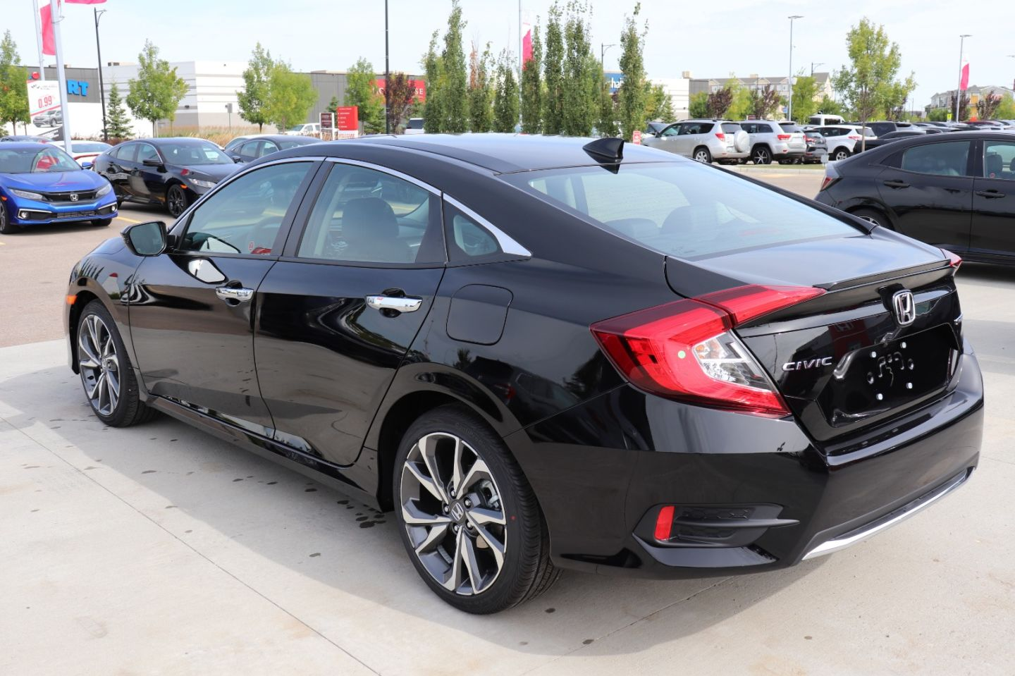2020 Honda Civic Sedan Touring for sale in St. Albert, Alberta