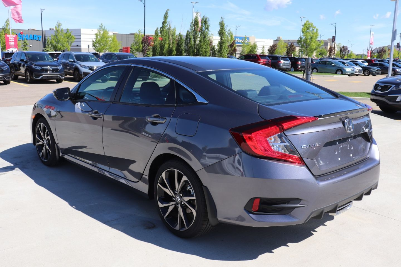 New 2020 Honda Civic Sedan Sport 20cs7488 St Albert Alberta Go Auto