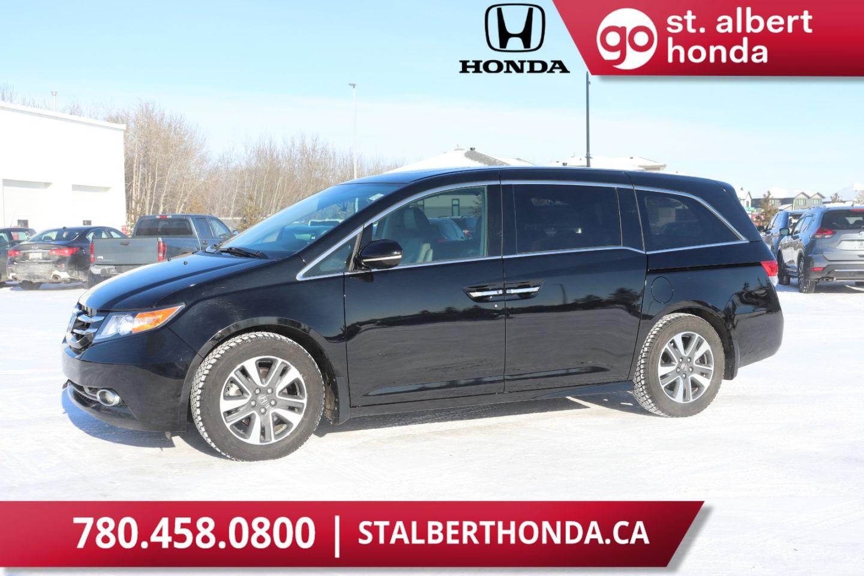 Used 2016 Honda Odyssey Touring Pw0953 St Albert Alberta Go Auto