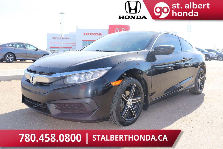 Used 2016 Honda Civic Coupe Lx Pw1040b St Albert Alberta Go Auto