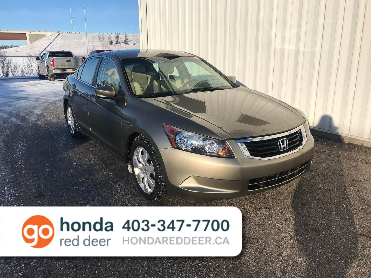 2008 Honda Accord Sdn EX-L for sale in Red Deer, Alberta