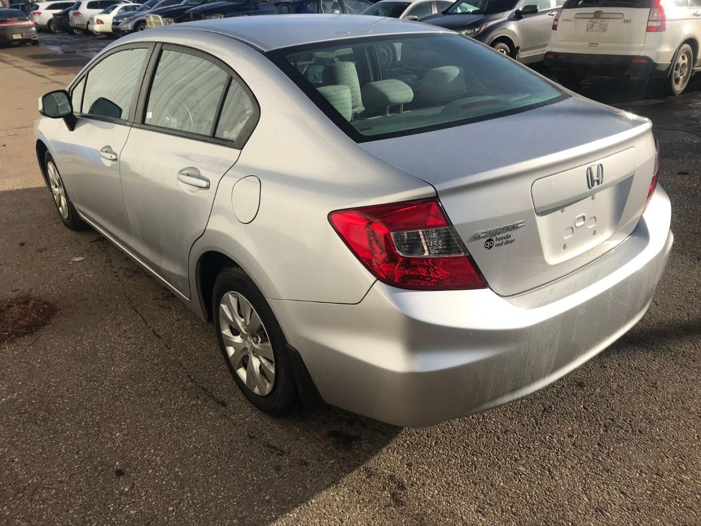 2012 Honda Civic Sdn LX for sale in Red Deer, Alberta