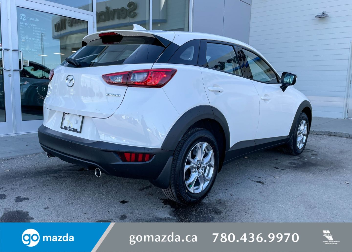 2021 Mazda CX-3 GS for sale in Edmonton, Alberta