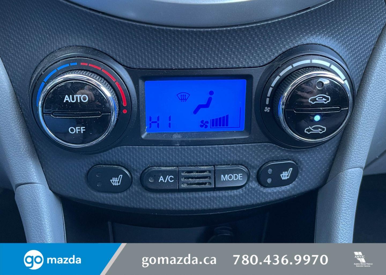 2013 Hyundai Accent GLS for sale in Edmonton, Alberta