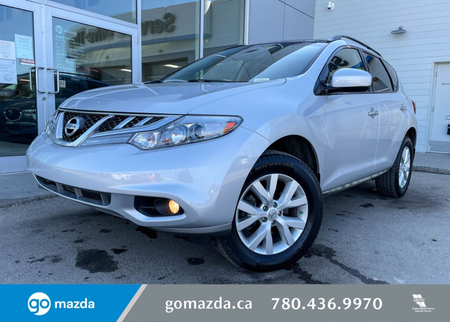 2013 Nissan Murano SV for sale in Edmonton, Alberta