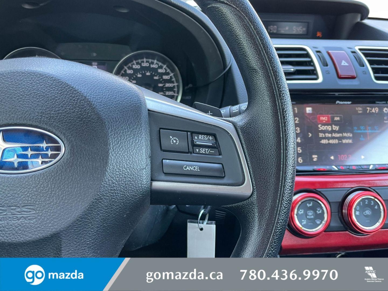 2015 Subaru Impreza 2.0i w/Touring Pkg for sale in Edmonton, Alberta