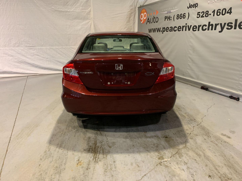 2012 Honda Civic Sdn LX for sale in Peace River, Alberta