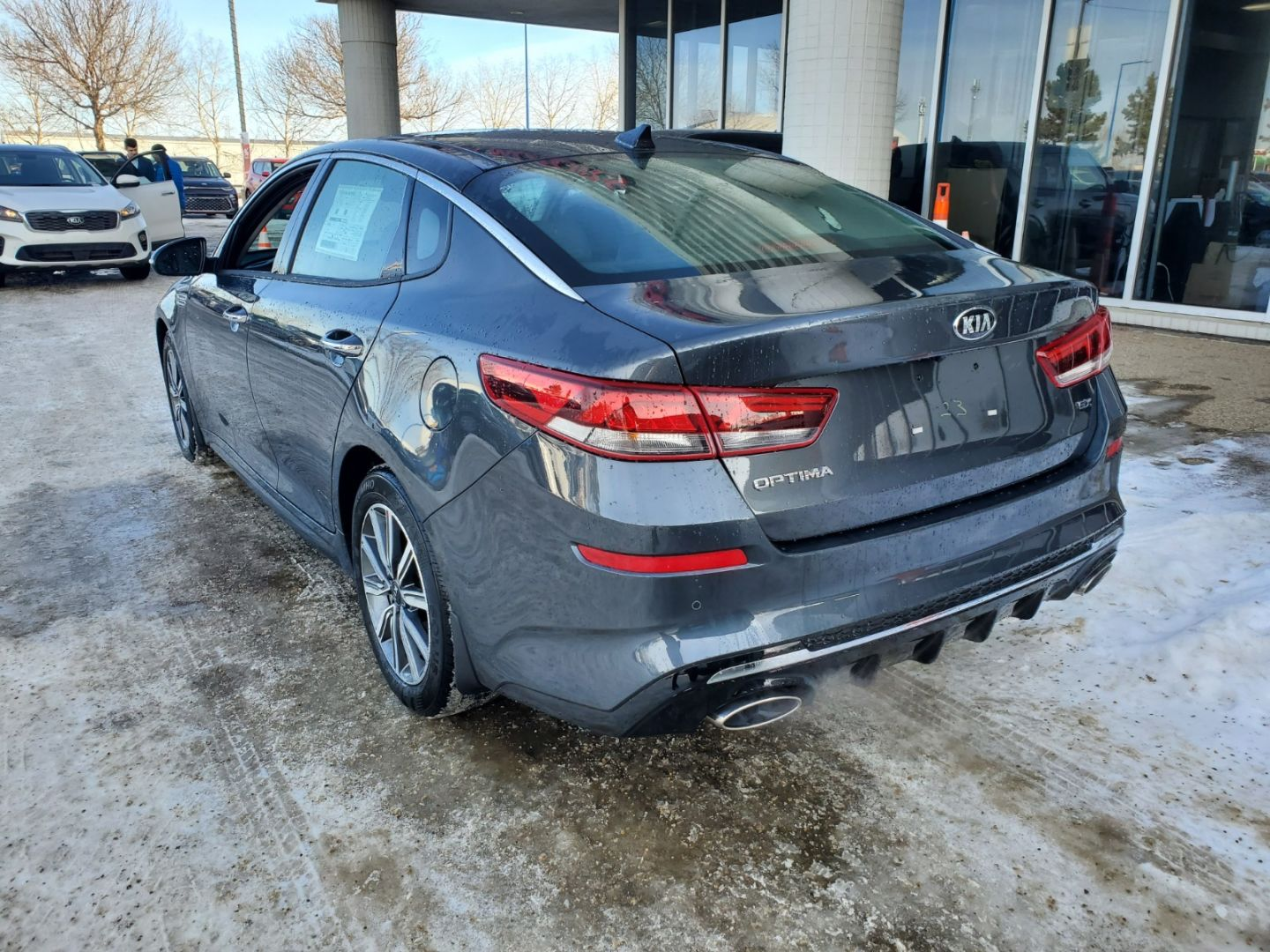 2020 Kia Optima EX+ for sale in Edmonton, Alberta