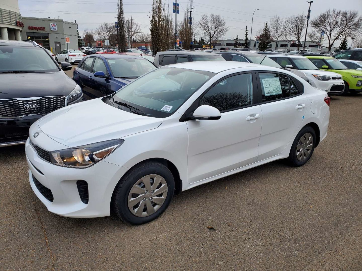 2020 Kia Rio EX for sale in Edmonton, Alberta