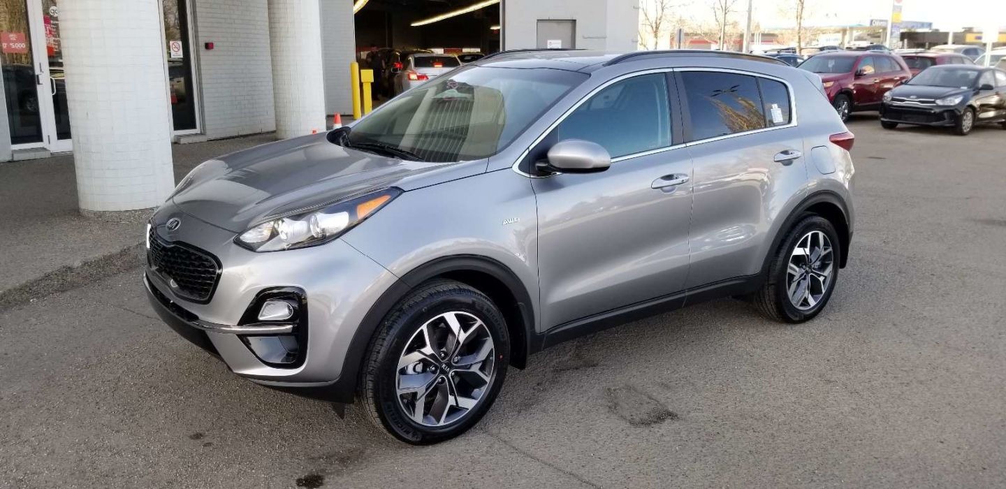 2020 Kia Sportage EX for sale in Edmonton, Alberta