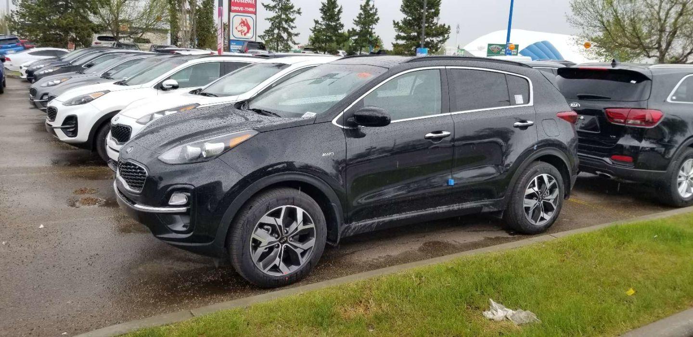 2020 Kia Sportage EX for sale in Edmonton, Alberta