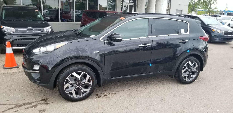 2020 Kia Sportage EX Premium for sale in Edmonton, Alberta
