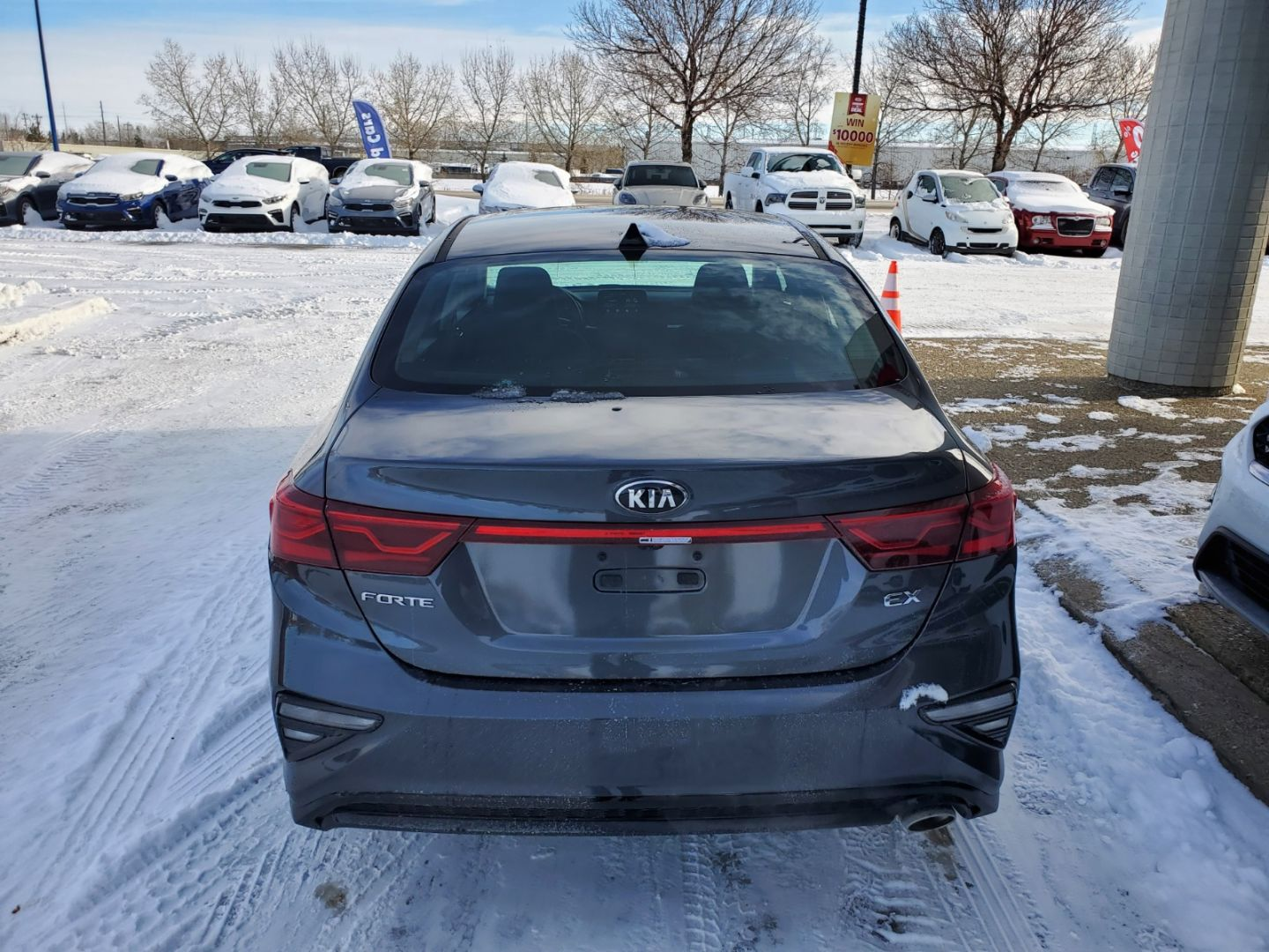 2021 Kia Forte EX Premium for sale in Edmonton, Alberta