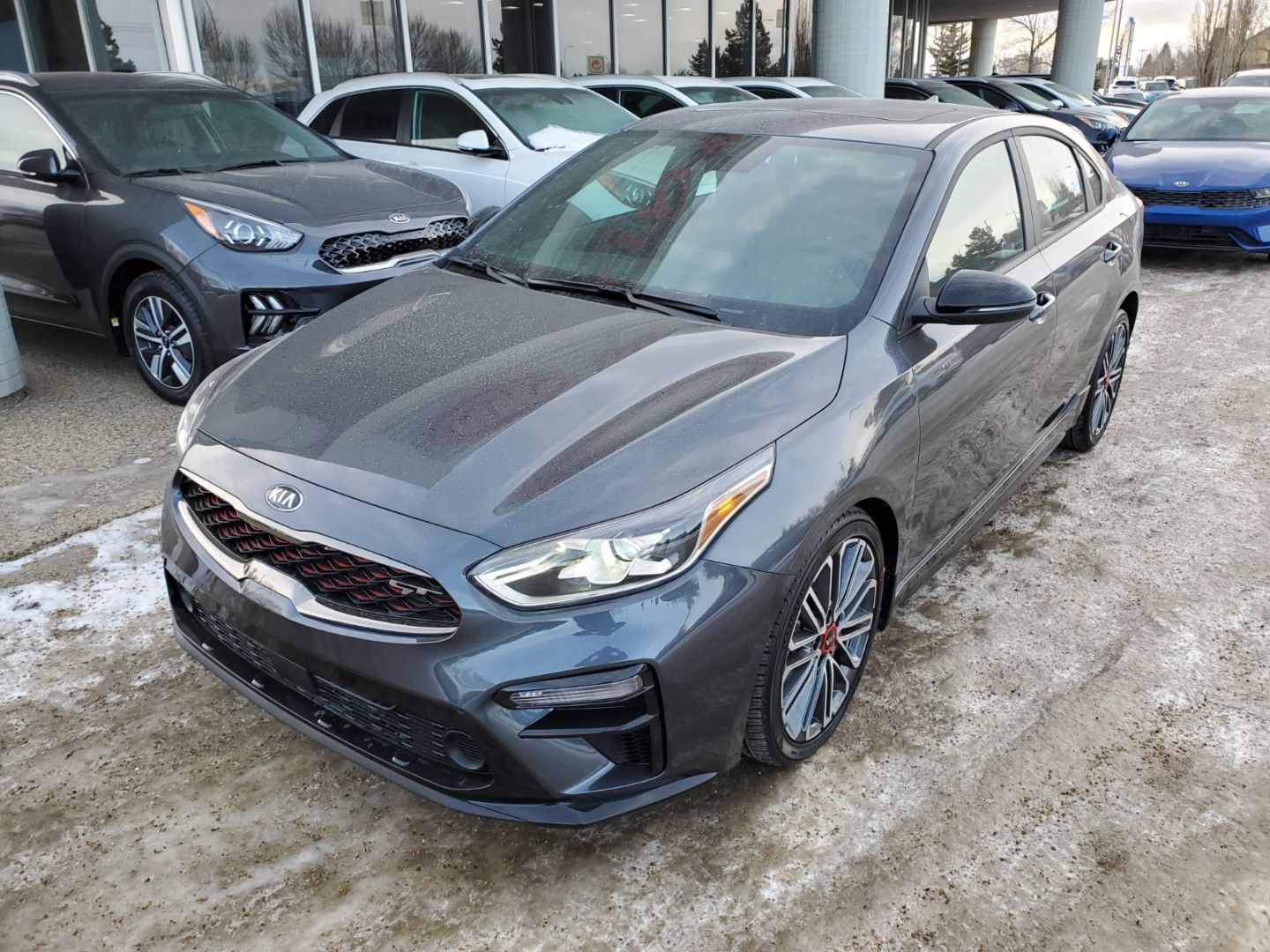 2021 Kia Forte GT Limited for sale in Edmonton, Alberta